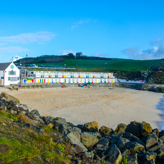 """Porthgwidden, St Ives"" stock image"