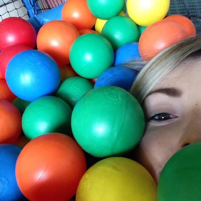 """""""Ball pool"""" stock image"""
