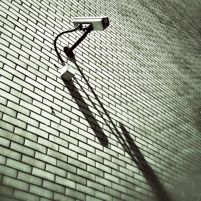 """Surveillance camera"" stock image"