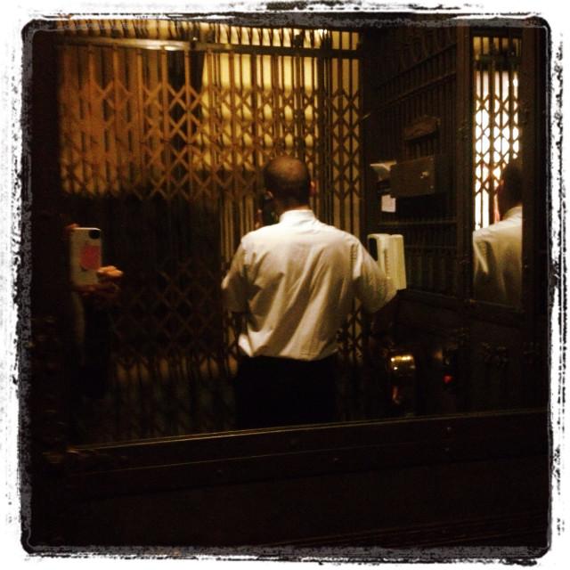 """Elevator Operator"" stock image"