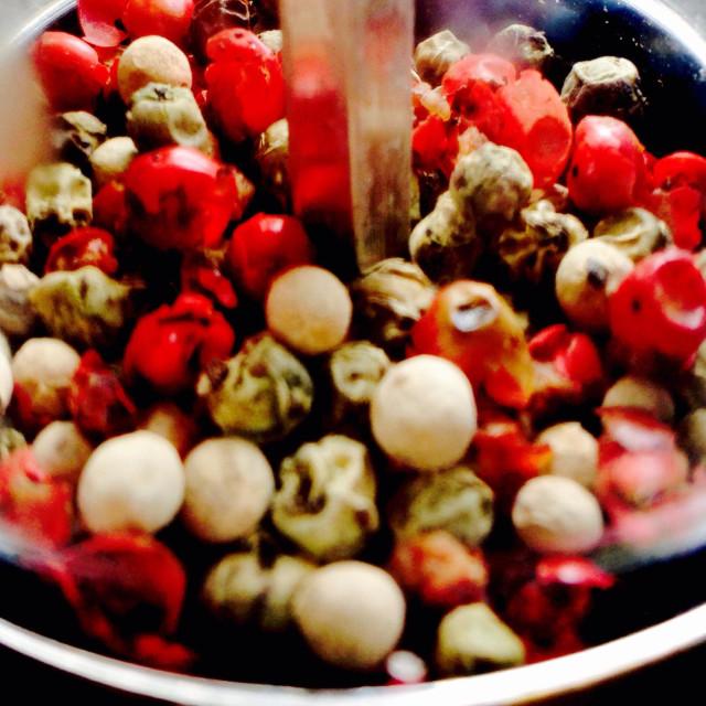 """Pepper corns"" stock image"