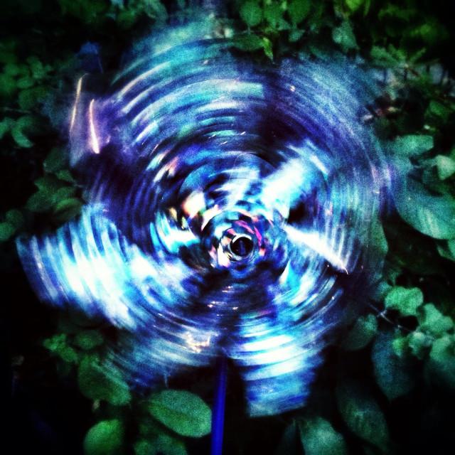 """Wind spinner"" stock image"