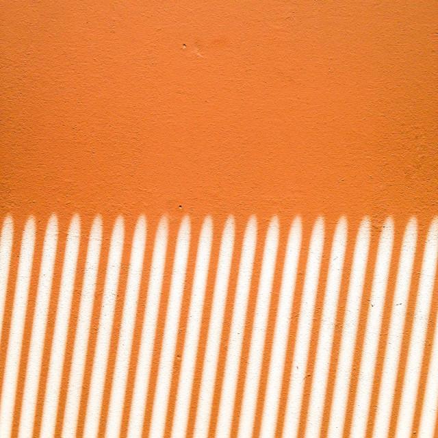 """Vertical orange stripes"" stock image"