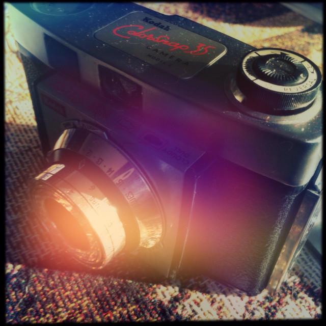 """Kodak colorsnap"" stock image"