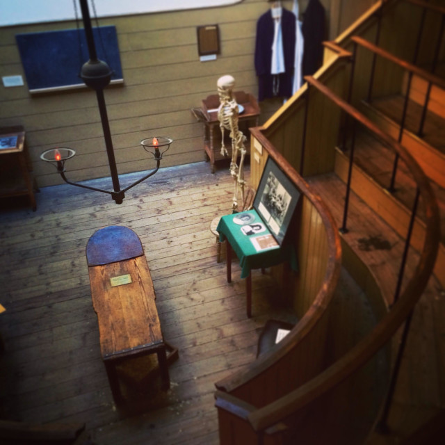 """The Old Operating Theatre Museum in London"" stock image"