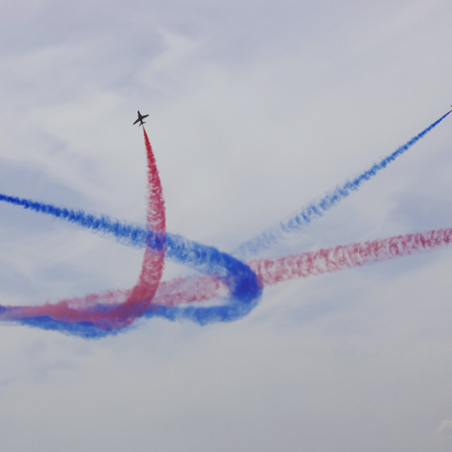 """Red Arrows Pt.2"" stock image"