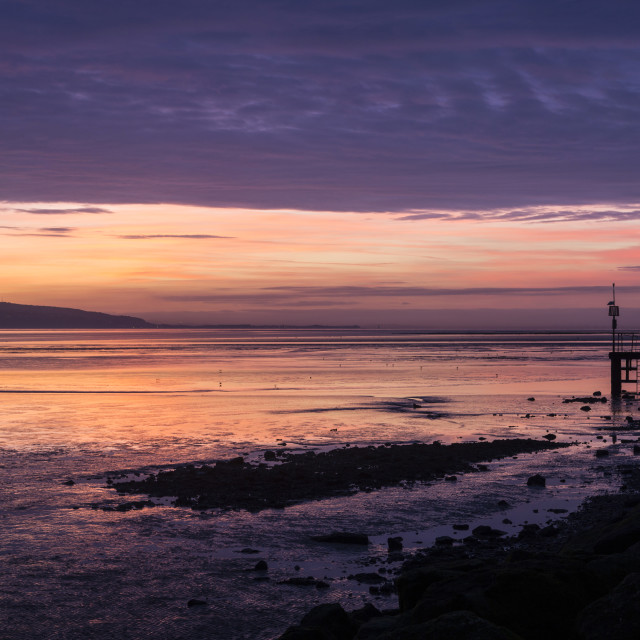 """West Kirby Dreamscape"" stock image"