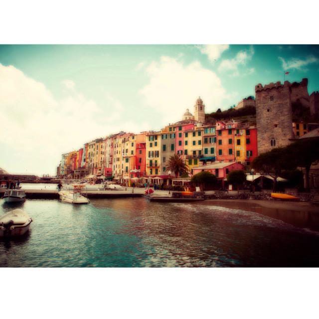 """""""Portovenere / Italy"""" stock image"""