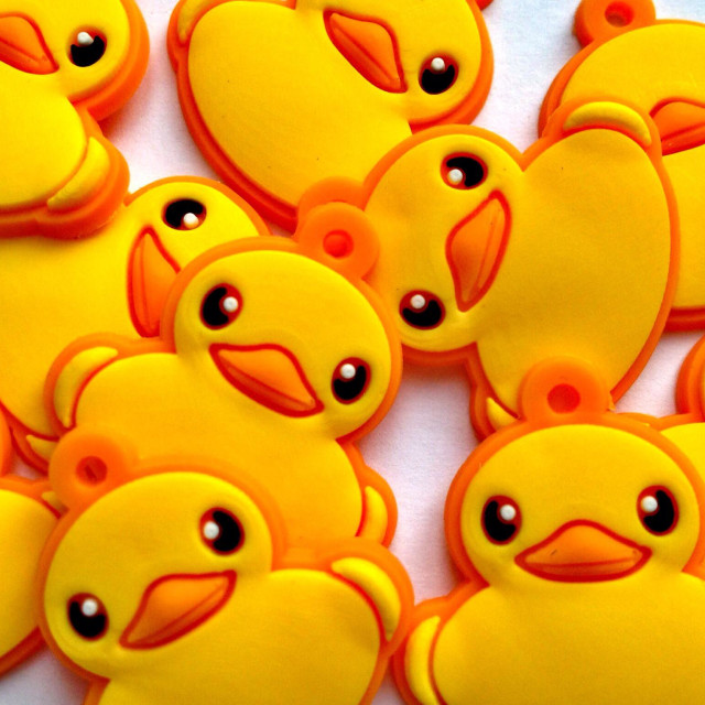"""Duck embellishments"" stock image"
