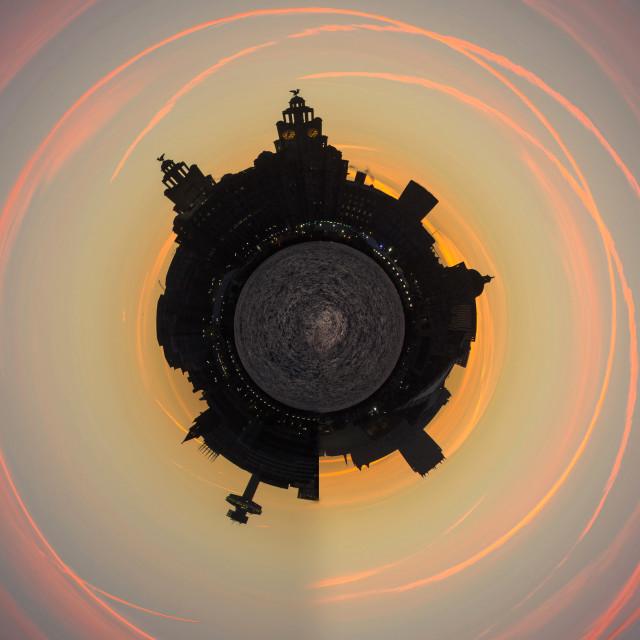 """Liverpool Cityscape World"" stock image"