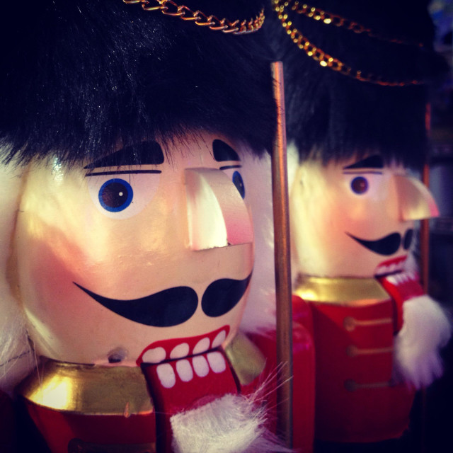 """Toy soldier from the Nutcracker Suite"" stock image"
