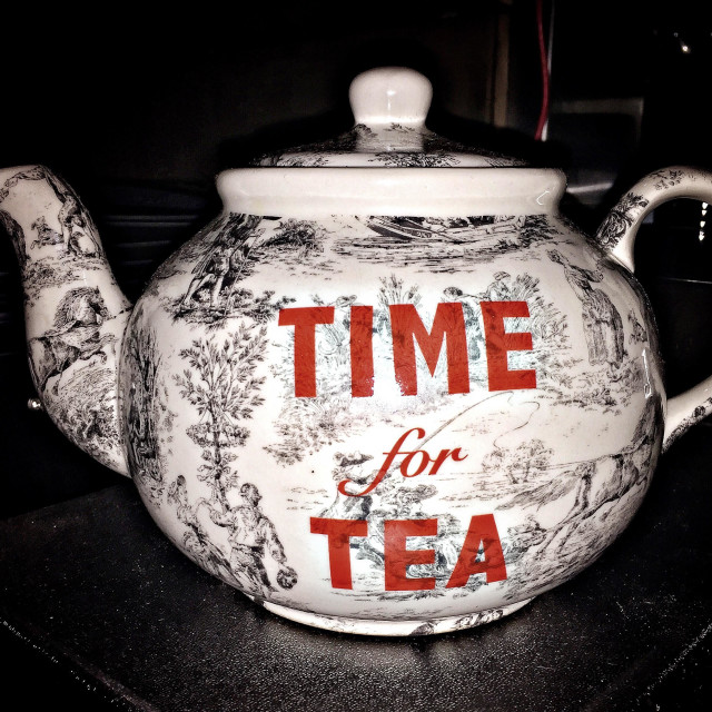 """Time for Tea"" stock image"