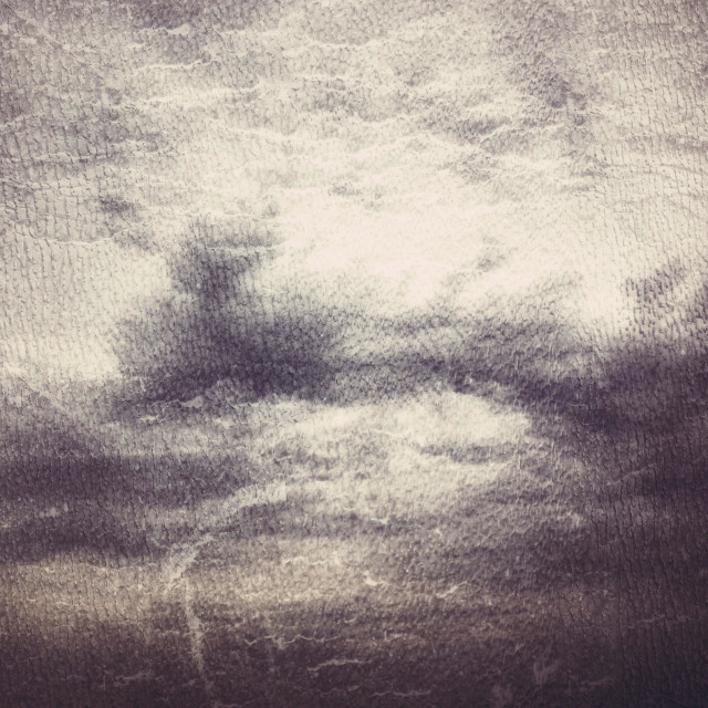 """Dark grey furious sky - grey pattern"" stock image"