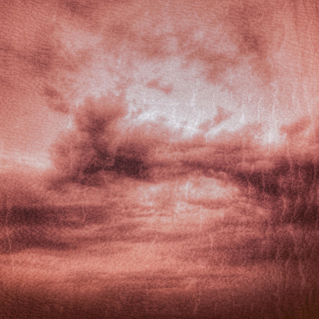 """""""Red furious angry sky - red texture - pattern"""" stock image"""