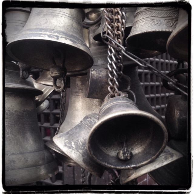 """""""Stack of bells"""" stock image"""