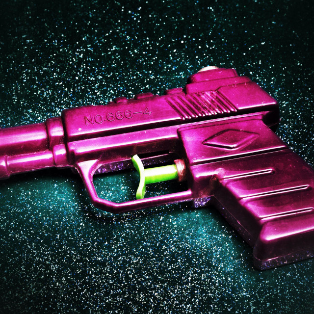 """Water pistol"" stock image"