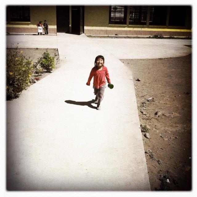"""A maya indigenous girl in Santiago Atitlan, Solola, Guatemala."" stock image"