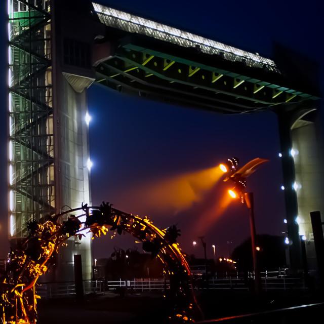 """""""Hull Tidal barrier"""" stock image"""