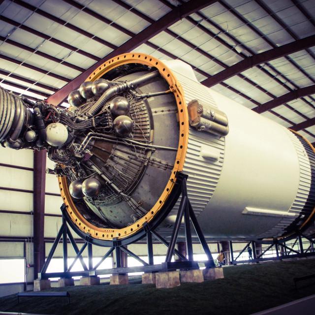 """""""Rocket engine"""" stock image"""