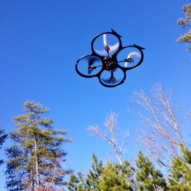 """Quadcopter drone"" stock image"