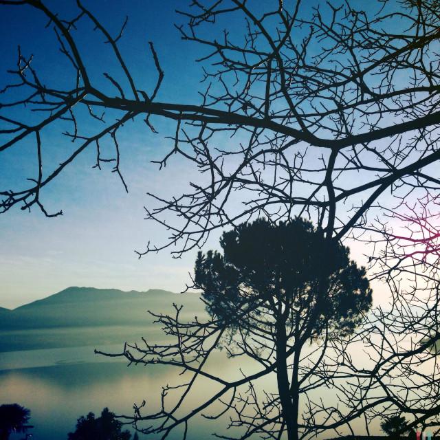 """""""Lago Maggiore"""" stock image"""