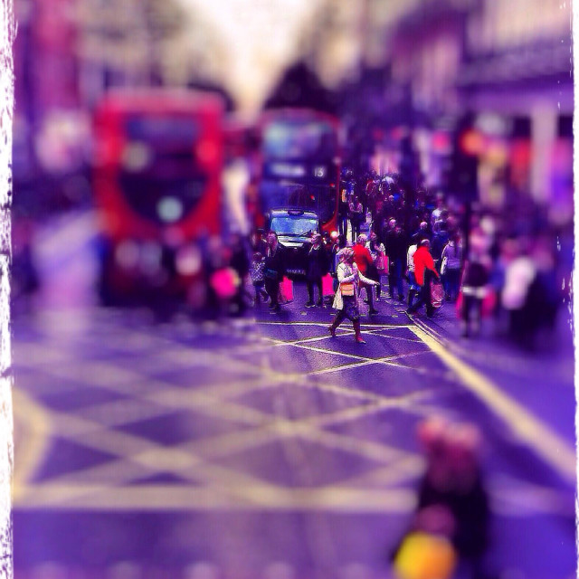 """""""Oxford Street, City of Westminster, London, UK"""" stock image"""