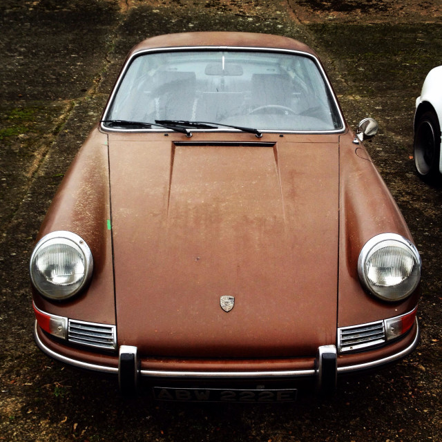 """Rat rod Porsche"" stock image"