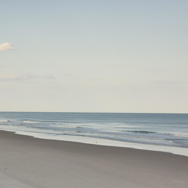 """""""Topsail beach in NC"""" stock image"""