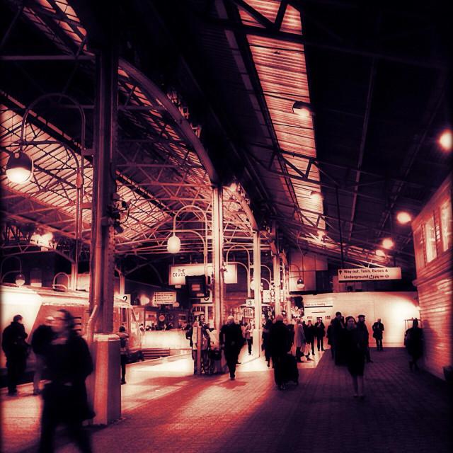 """""""Marylebone Railway station, London, UK"""" stock image"""