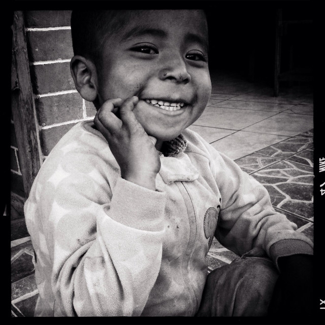 """Maya indigenous boy in Panajachel, Solola, Guatemala."" stock image"