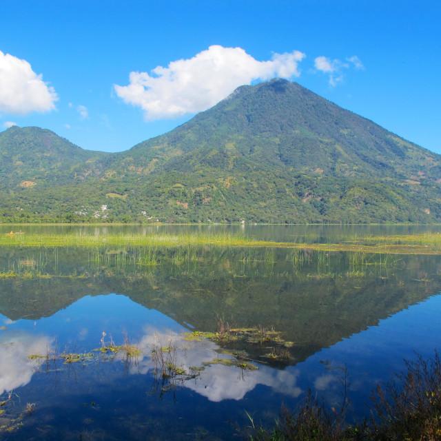 """San Pedro Volcano"" stock image"