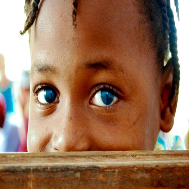 """Little Haitian Girl"" stock image"