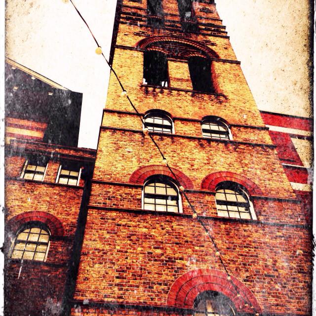 """""""Exmouth market building, London, UK"""" stock image"""
