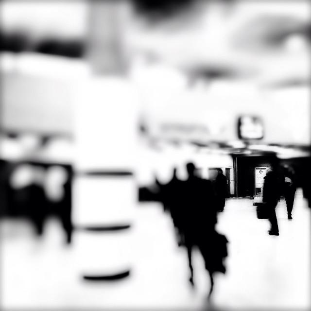"""Blackfriars Underground station, London, UK"" stock image"