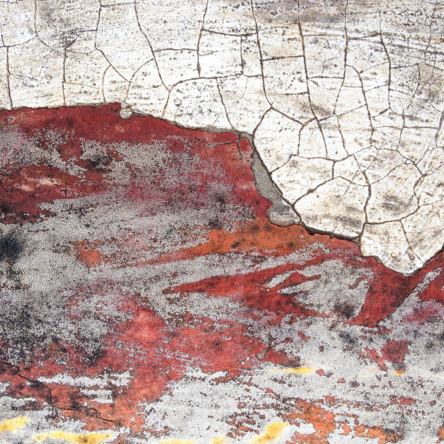 """Abstract background of a weathered tabletop"" stock image"