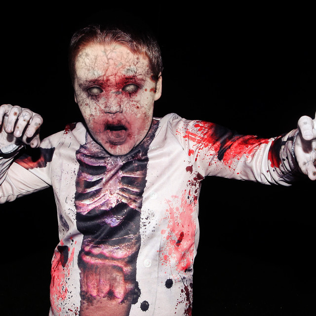 """""""Young Zombie Boy"""" stock image"""