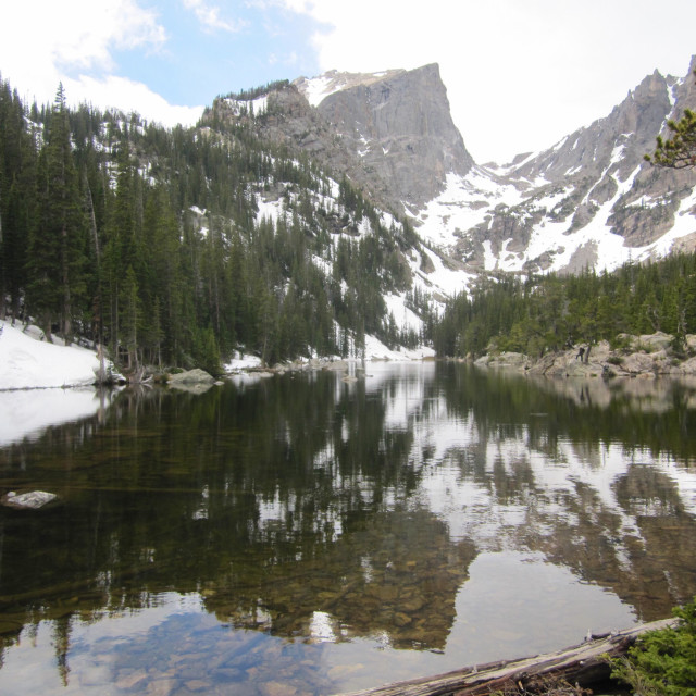 """Rocky Mountain National Park"" stock image"