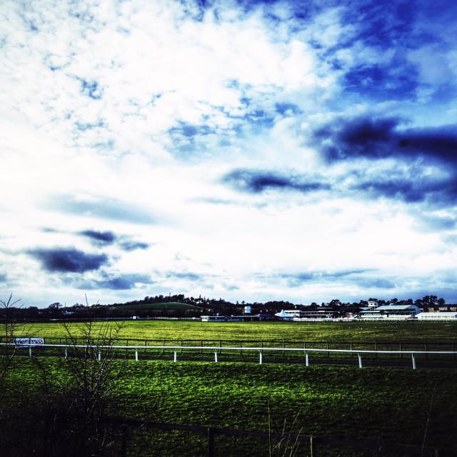 """""""Racecourse"""" stock image"""