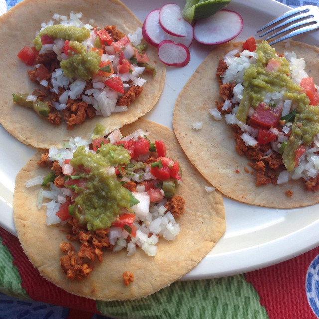 """""""Mexican Tacos"""" stock image"""