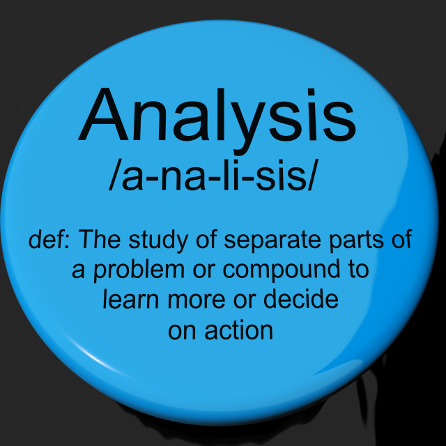 separate pasts analysis Analysis interpretation of the news based on evidence, including data, as well as anticipating how events might unfold based on past events.