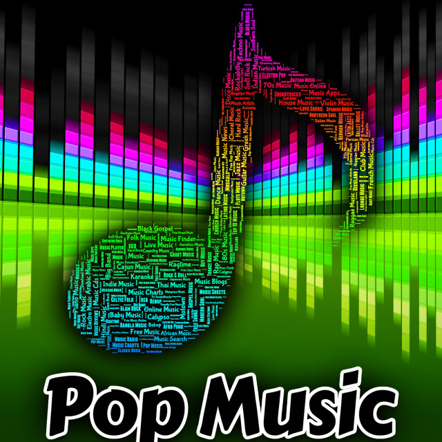 Pop Music Means Sound Track And Melodies - License, download