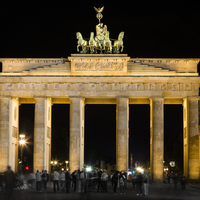"""Brandenburg Gate"" stock image"