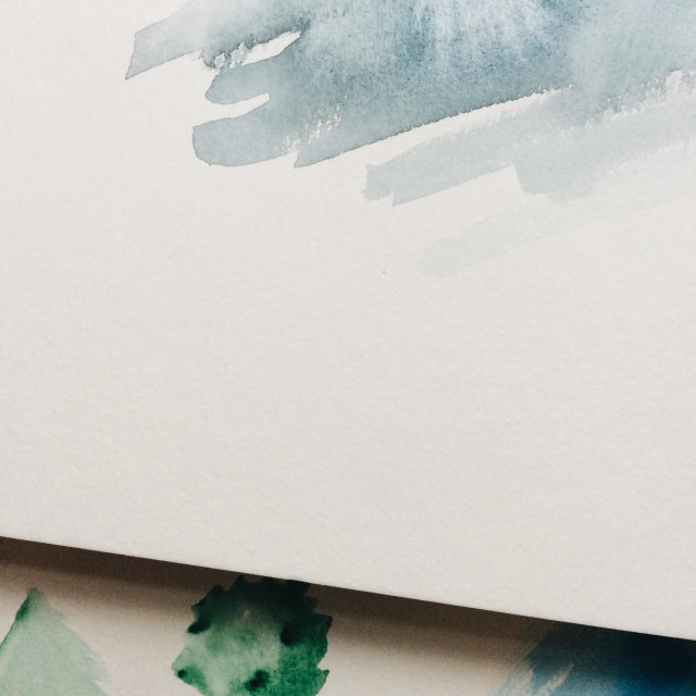 """Watercolour practice"" stock image"