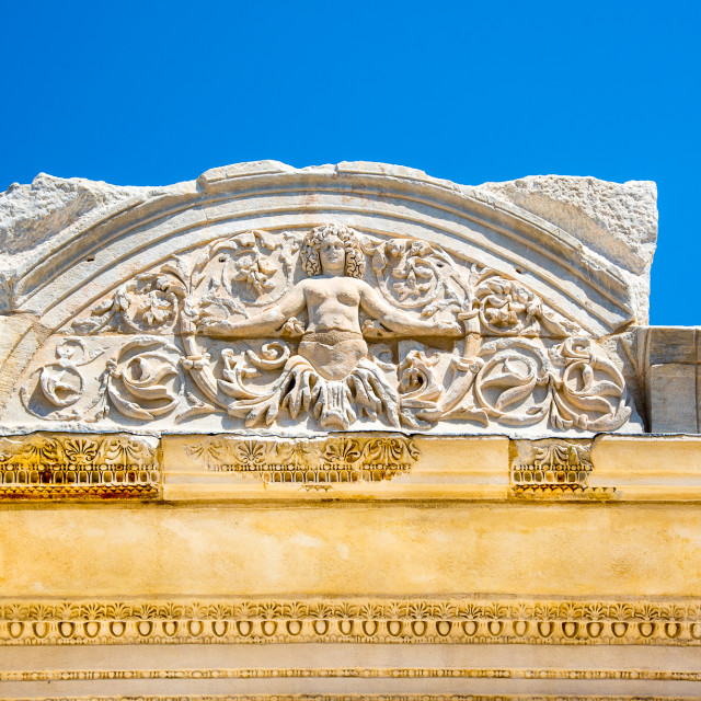 """Syrian Arch at Ephesus"" stock image"