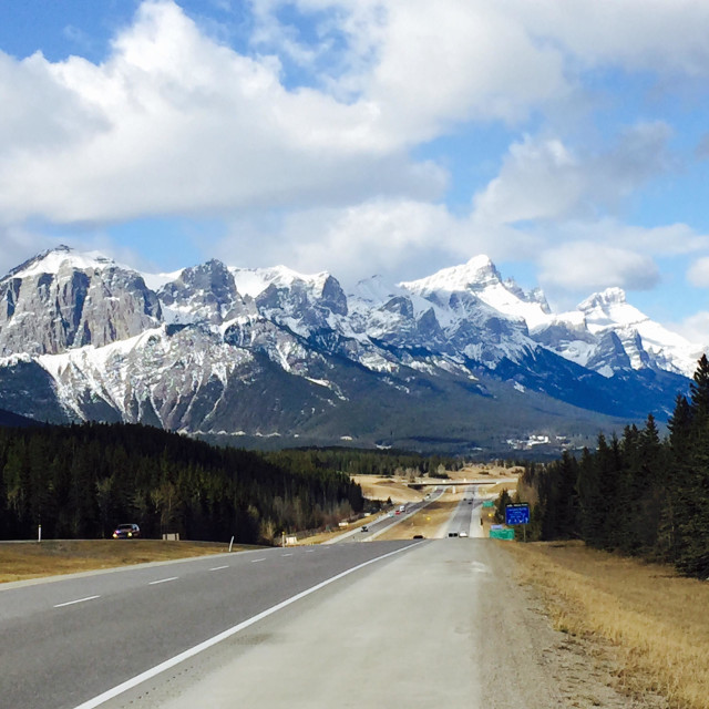 """Banff National Park Alberta Canada l"" stock image"