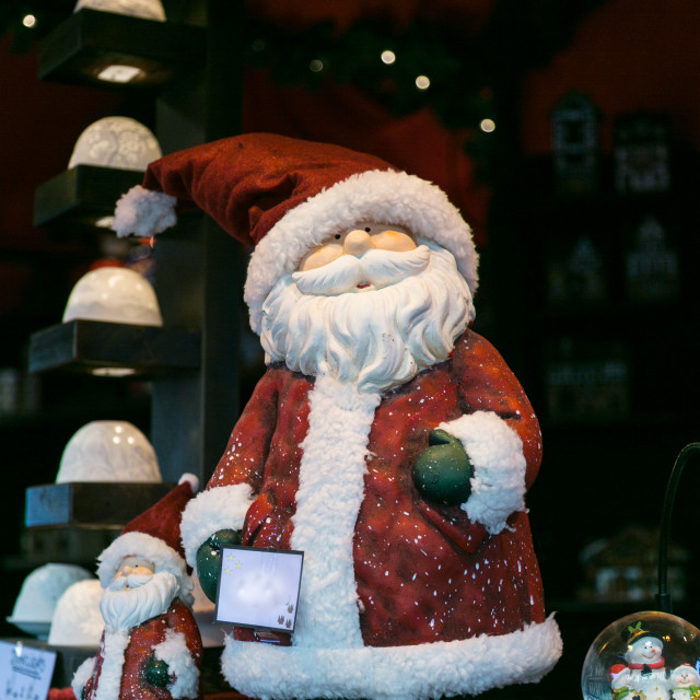 """Happy Father Christmas"" stock image"