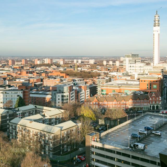 """Birmingham cityscape"" stock image"
