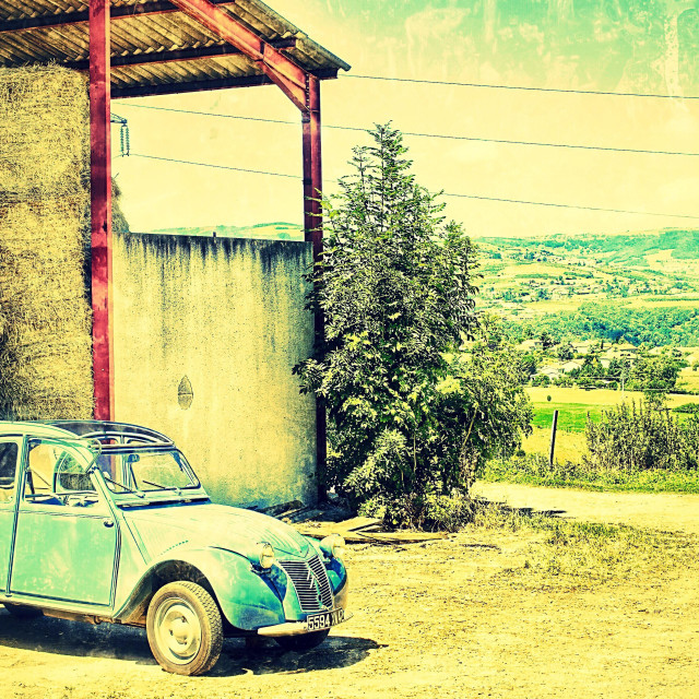 """Citroen 2cv france"" stock image"