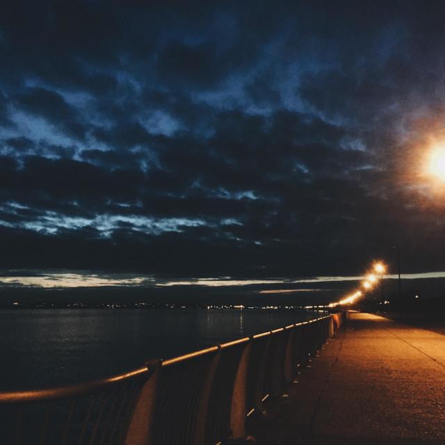 """Otterspool Promenade"" stock image"