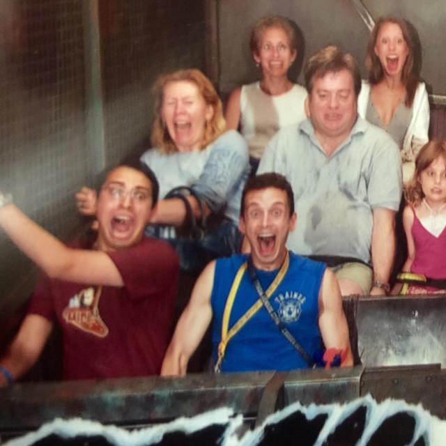 """Disneyland Tower of Terror"" stock image"